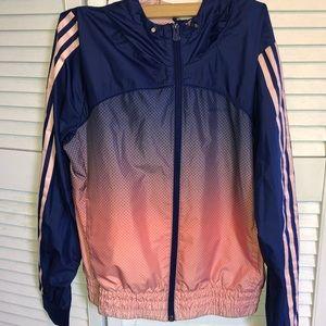 Adidas windbreaker.